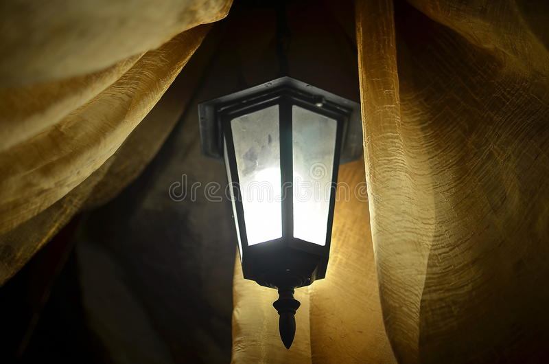 The lamp royalty free stock photo