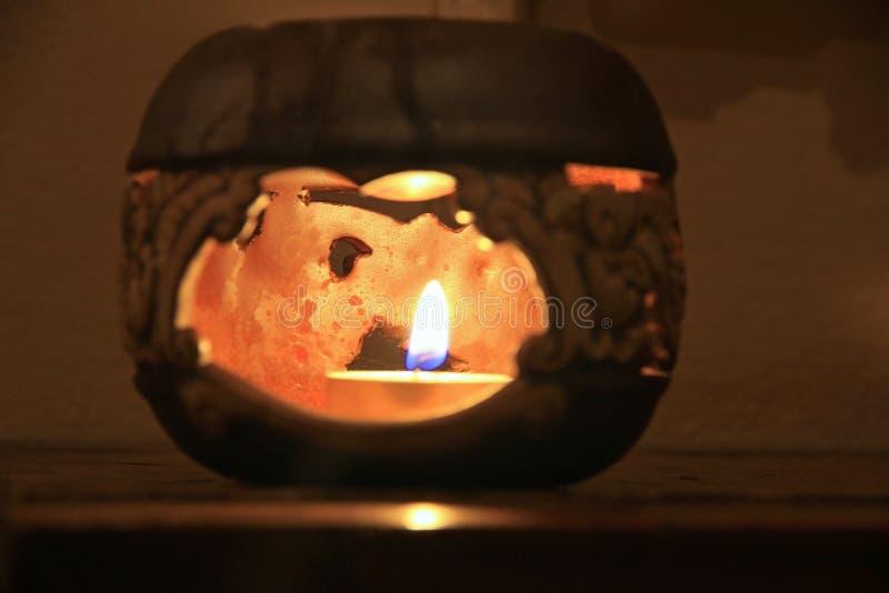 Download Lamp in Bedroom stock photo. Image of romantic, cups - 51984294