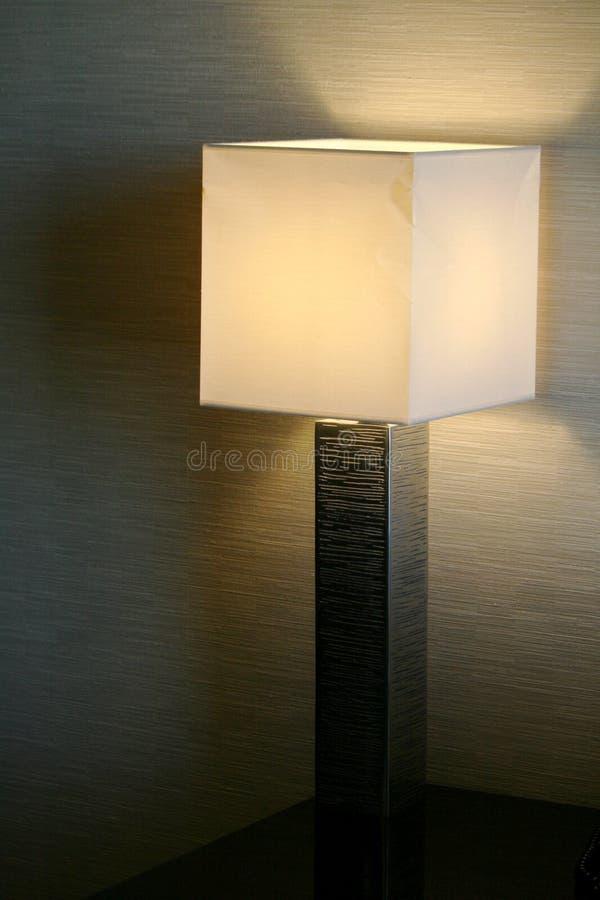 Lamp - binnenlands ontwerp stock afbeelding