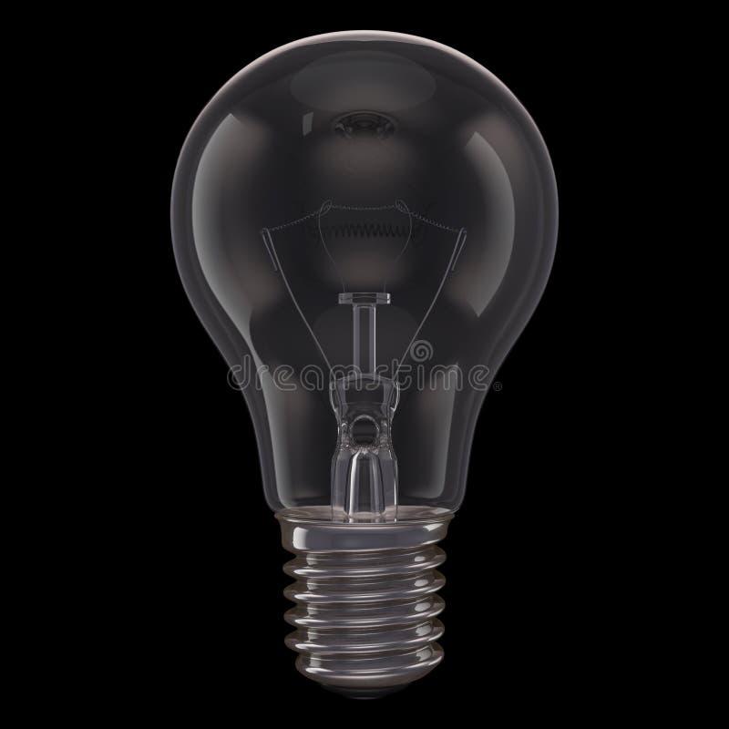 Download Lamp Black Background stock illustration. Illustration of incandescent - 31132576