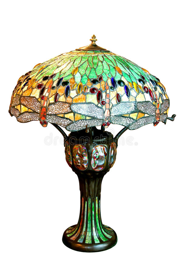 Lamp Burano. Burano style lamp isolated included clipping path royalty free stock image