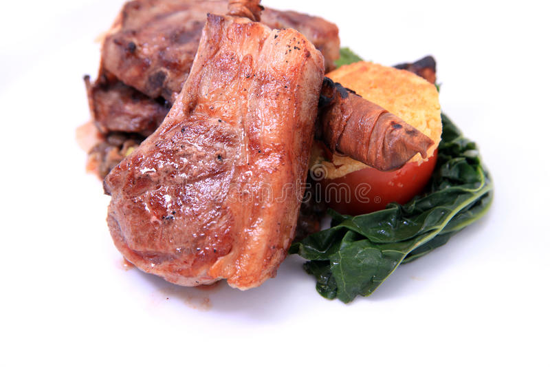 Lamp Chop Steak Stock Photography