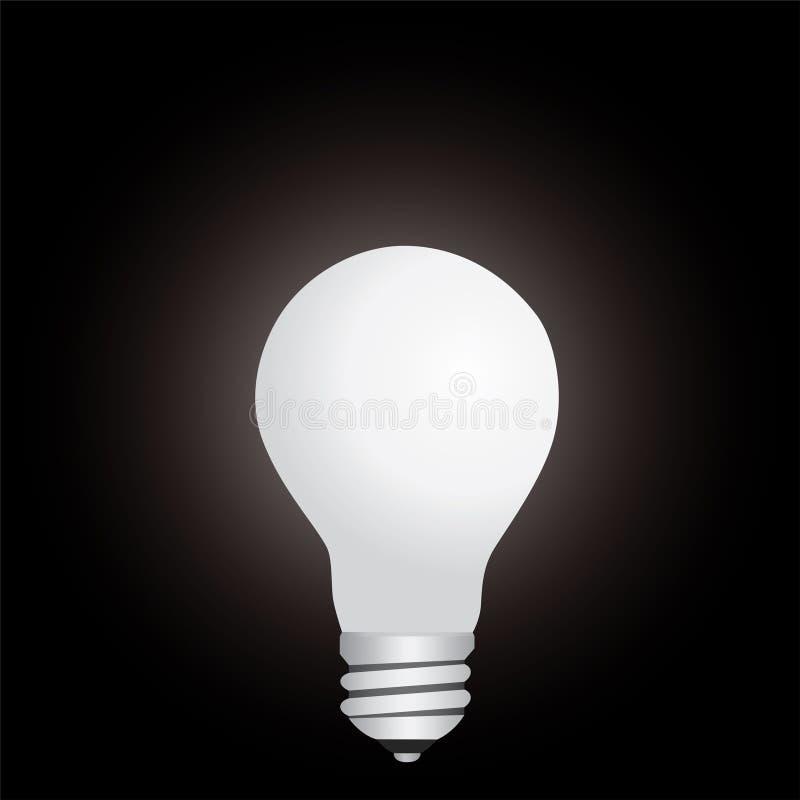 Download Lamp in the dark stock vector. Illustration of bulb, lamp - 6683589