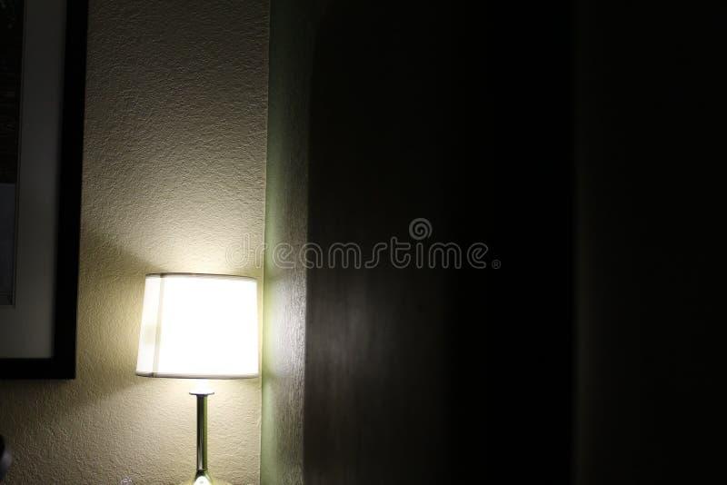 Lamp in een hotel in Gainesville, Florida, Verenigde Staten royalty-vrije stock foto's