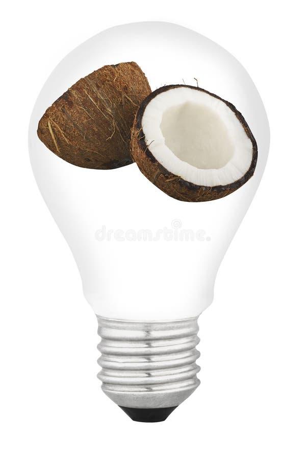 Lamp With Fruit Stock Photos