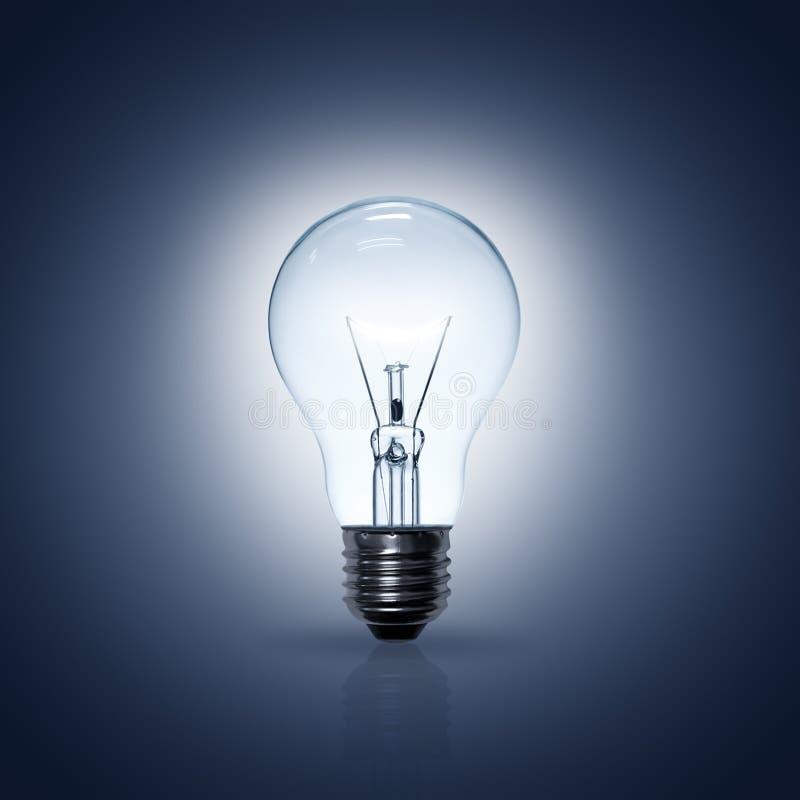 Lamp of Gloeilamp stock afbeelding