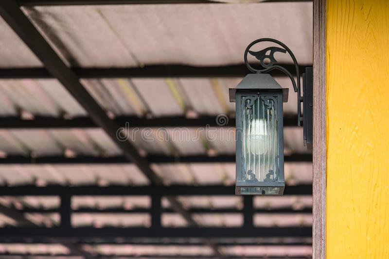 Lamp house background andtexture stock images