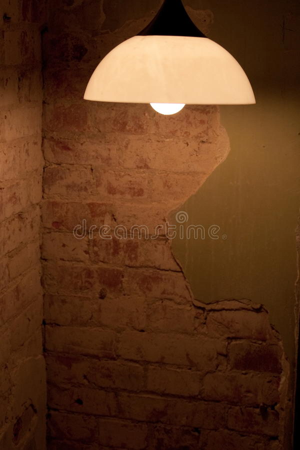 Free Lamp In Dirty Room Stock Image - 11545731
