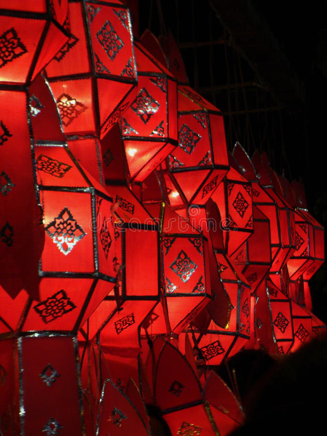 Lamp Lanna royalty-vrije stock foto's