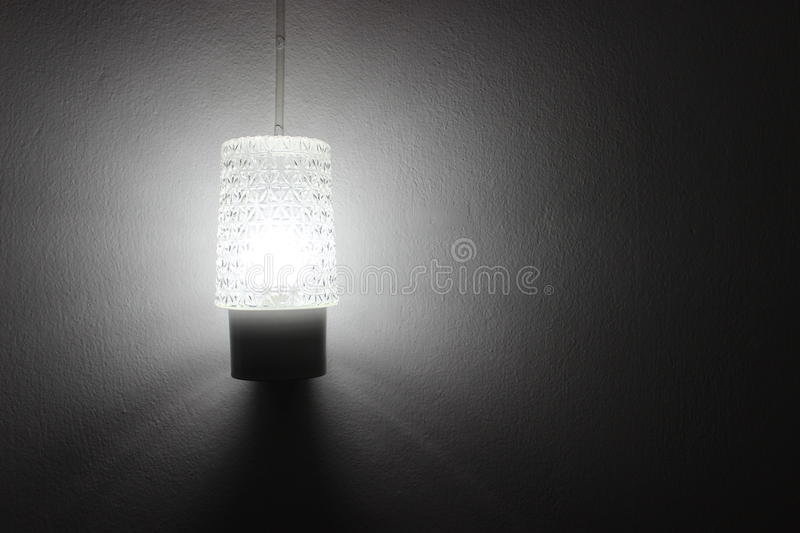 Lamp Light in the room stock photos
