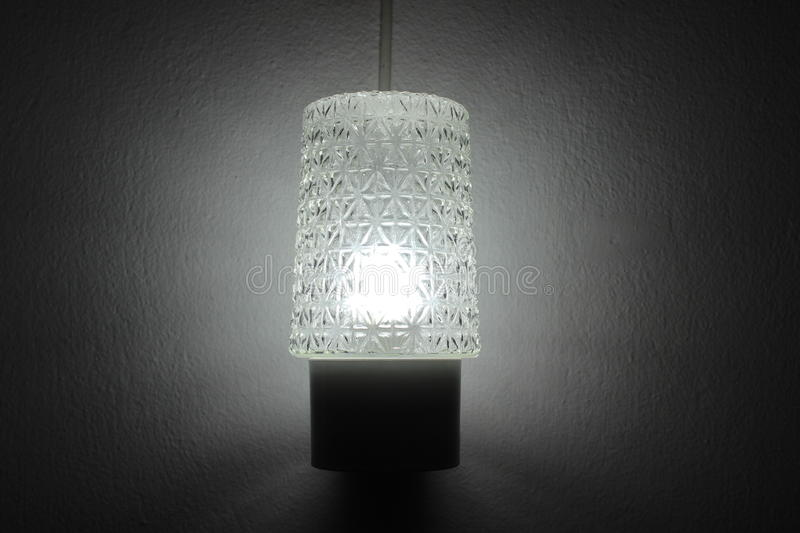 Lamp Lighting in the room royalty free stock photography