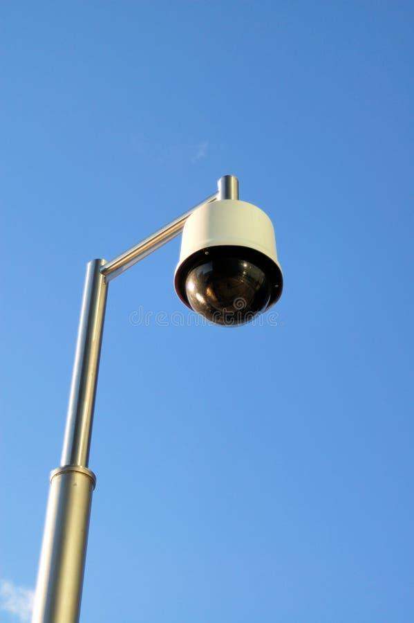 Lamp-a-like CCTV Royalty Free Stock Photos
