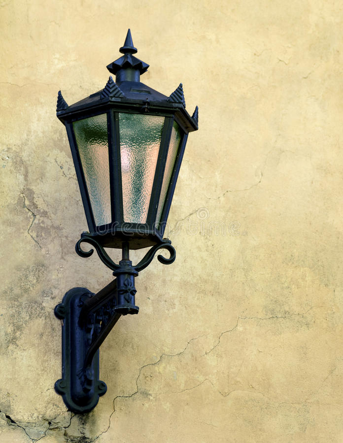 Delightful Download Lamp On Medieval Street, Old Riga Stock Photo   Image Of Medieval,  Lamp