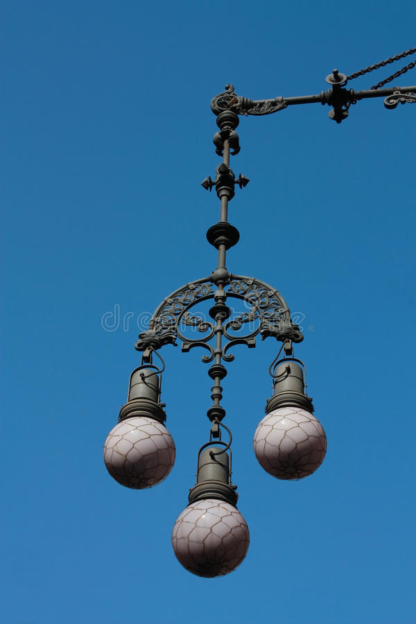 Download Lamp Modernist Barcelona stock image. Image of decoration - 21985717