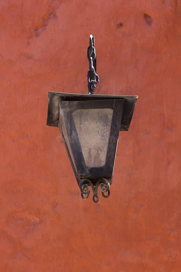 Lamp in Monasterio DE Santa Catalina stock fotografie