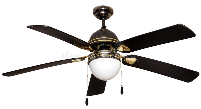 Download A Lamp With Mounted Propeller Stock Image - Image: 5386281