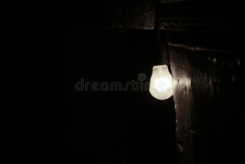 A lamp at my Building royalty free stock photos