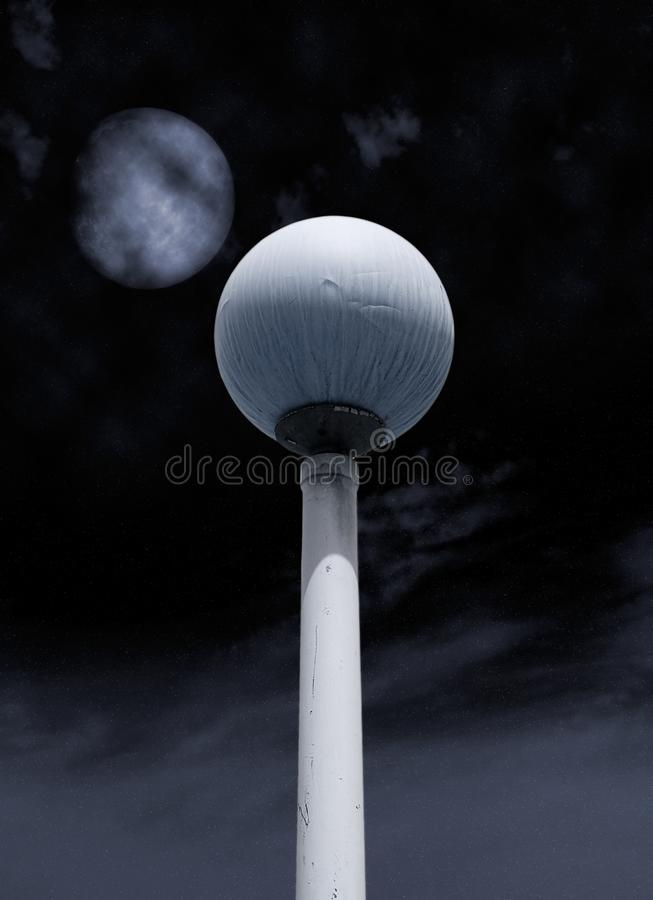 Lamp of the night royalty free stock photo