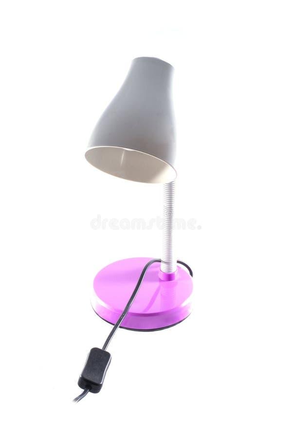 Lamp op een witte achtergrond royalty-vrije stock afbeelding