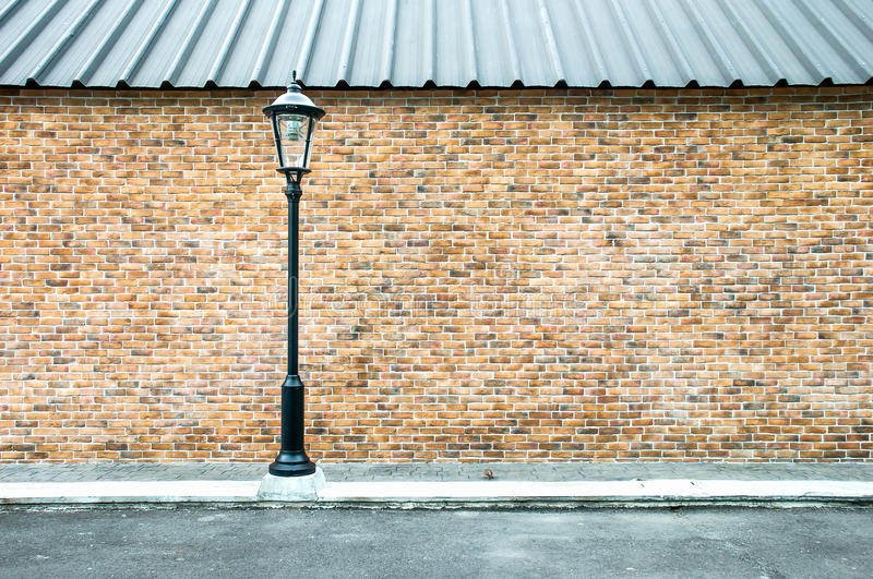 Lamp pole at the road. Street light pole royalty free stock photos