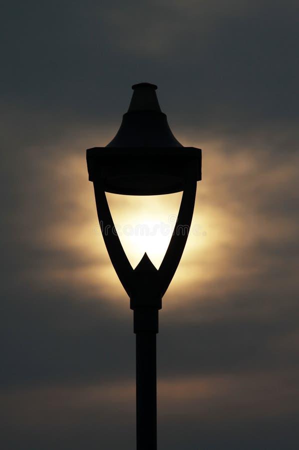 Download Lamp Post stock image. Image of details, lights, sunset - 20950589