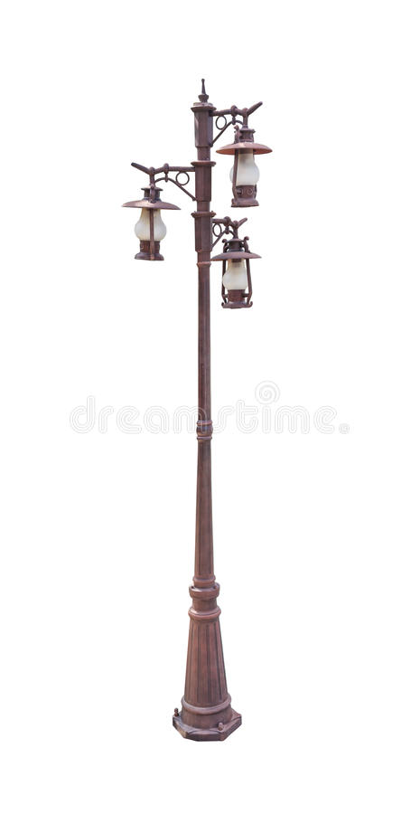 Free Lamp Post Street Road Light Pole Stock Images - 38303614