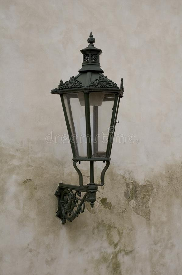 Lamp In Prague Free Stock Photography