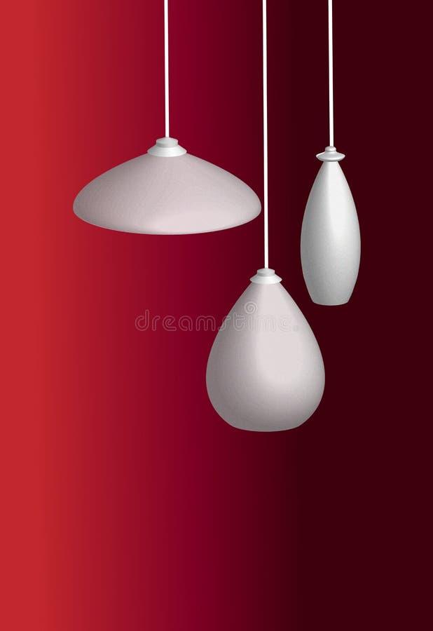 Lamp Shades Royalty Free Stock Photos