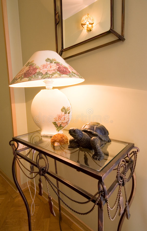 Lamp table. stock image