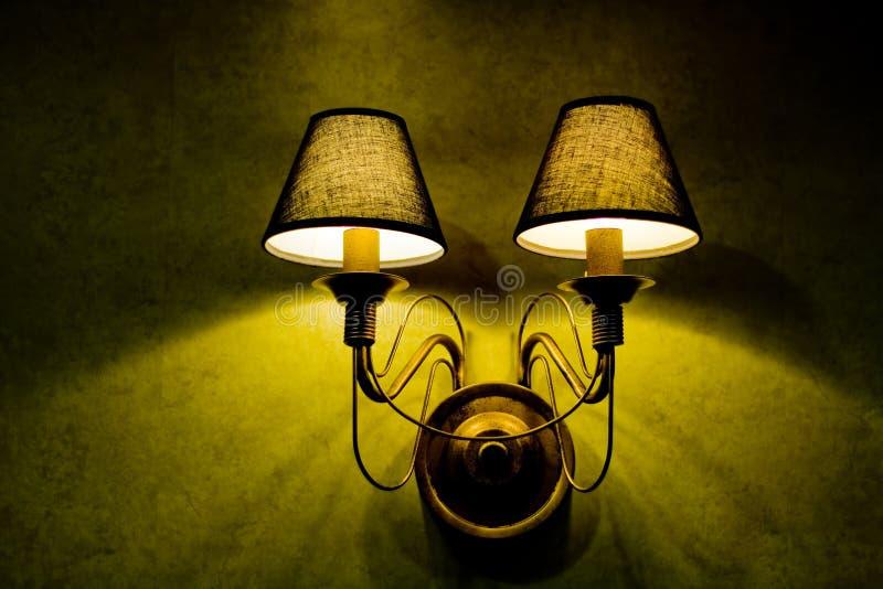 lamp wall στοκ φωτογραφίες