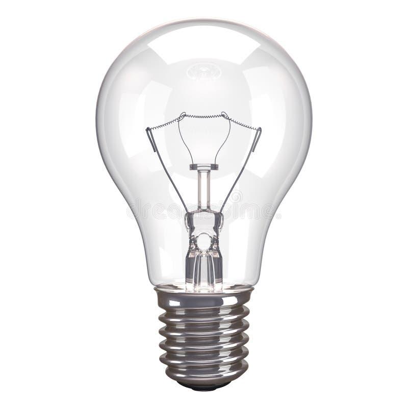 Download Lamp White Background stock illustration. Illustration of incandescent - 31132709