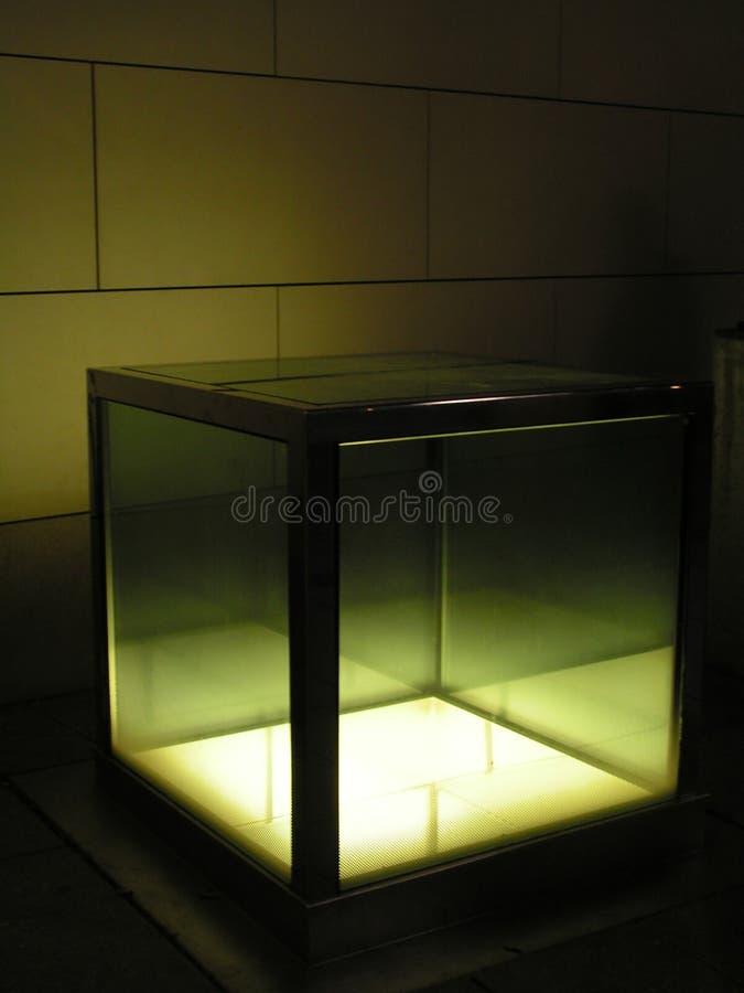 Download Lampa för 2 kub arkivfoto. Bild av glöd, stads, mörkt, natt - 47850