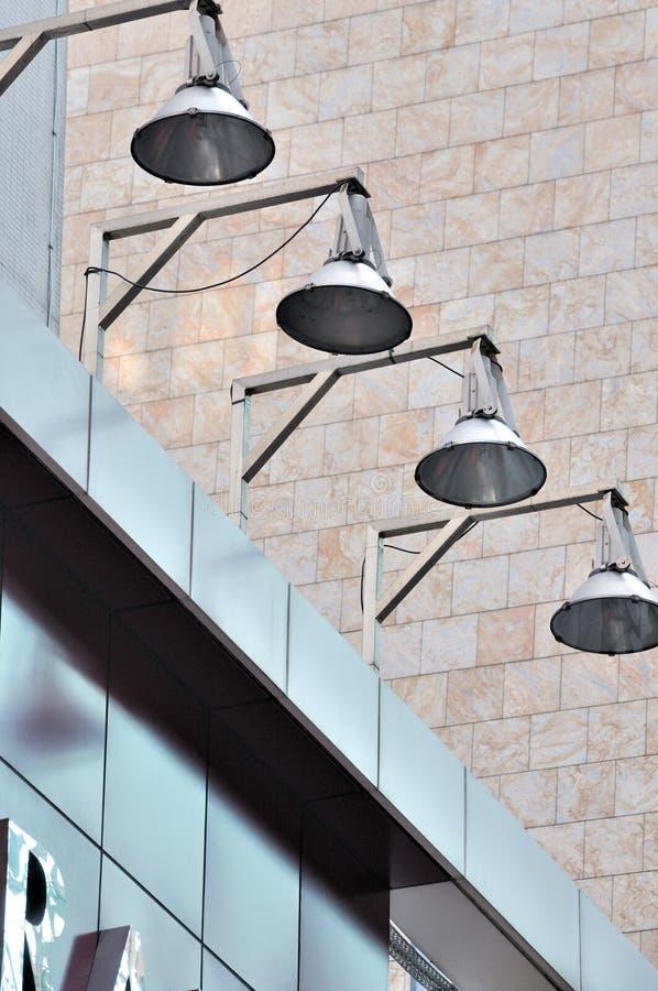 lampa för byggnadsstadssammansättning royaltyfri foto