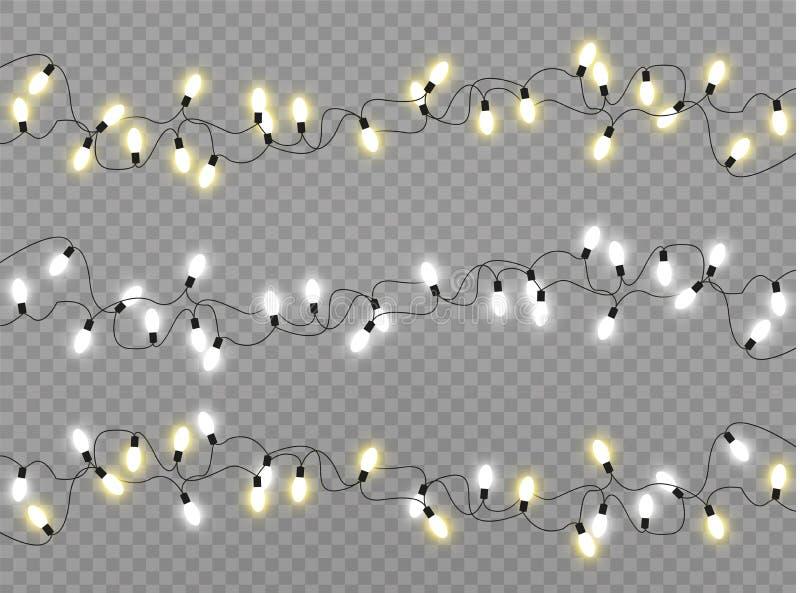 Lampa för julljus stock illustrationer