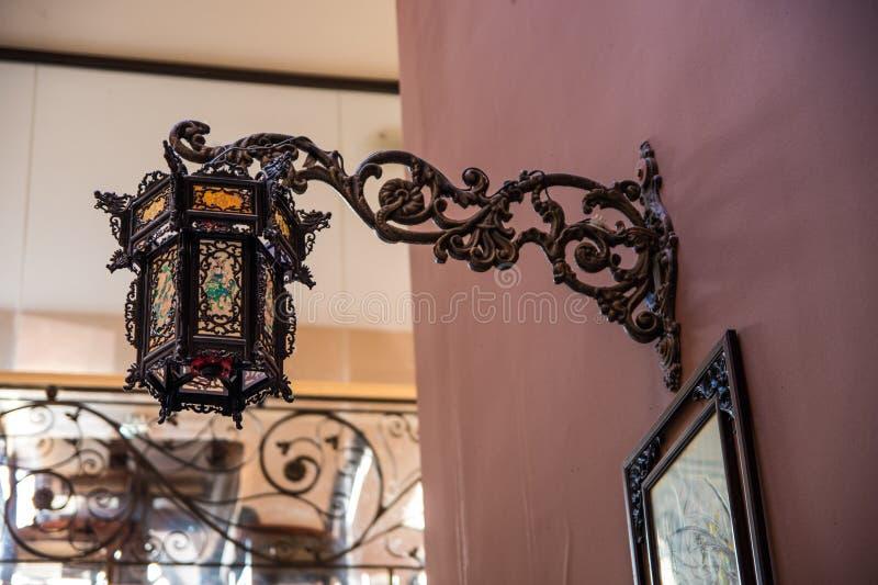Lampa för kinesisk vägg royaltyfri fotografi