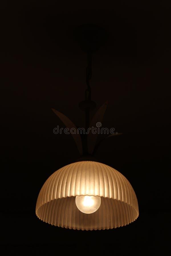 Lampa för lågt ljus med härliga modeller arkivbilder