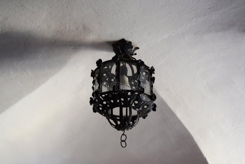 Lampa för Od-svarttak royaltyfri foto