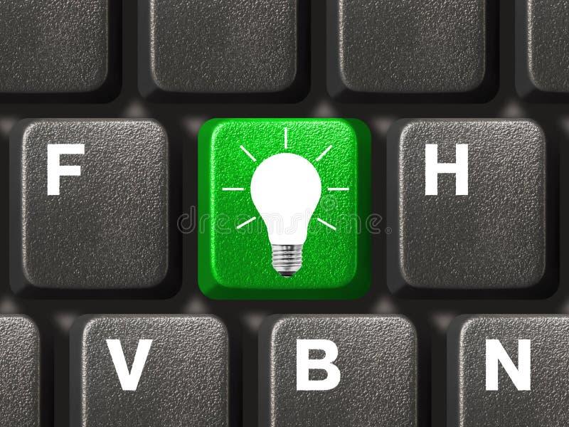 lampa för tangentbord för datortangent