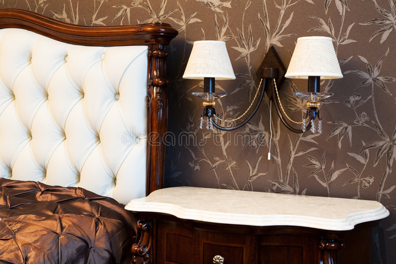 Lampa på ett underlag royaltyfria foton