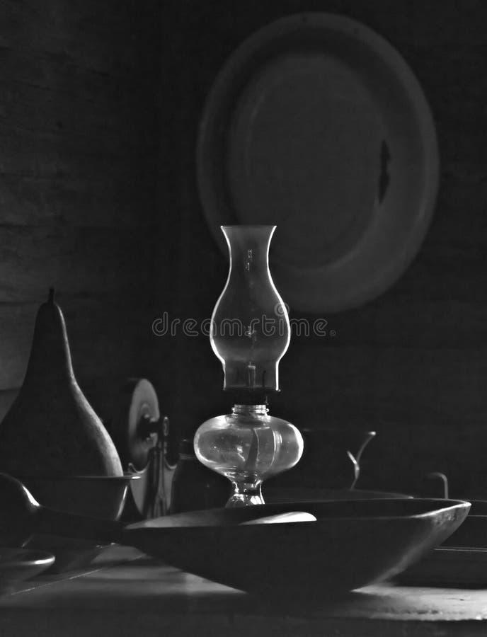 lampa przygraniczny oleju fotografia stock