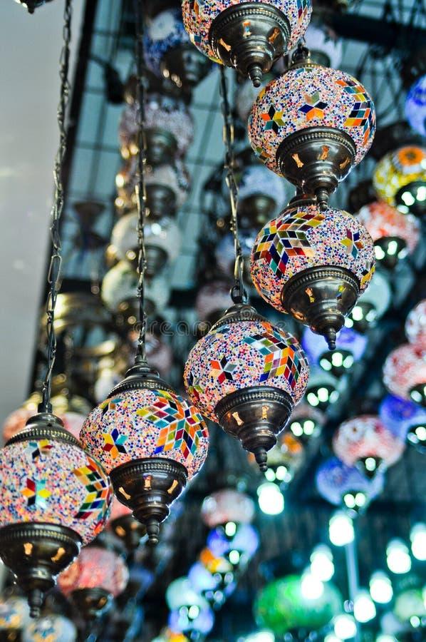 lampa rocznik tradycyjny turecki zdjęcia royalty free