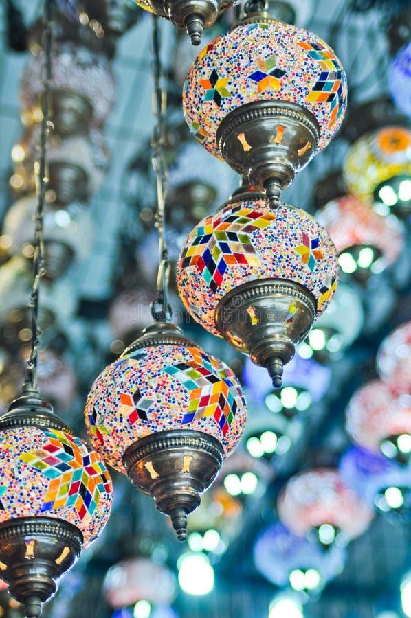 lampa rocznik tradycyjny turecki obrazy stock