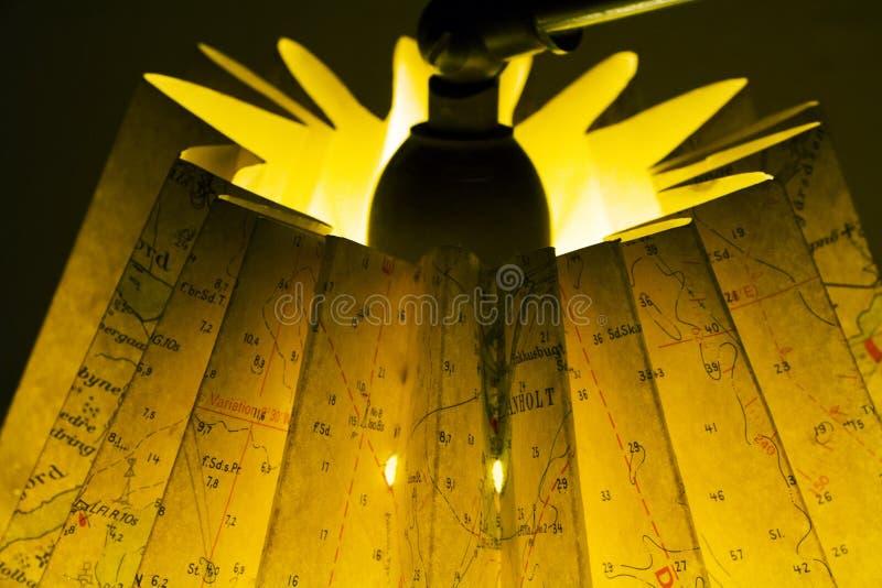Lampa som göras av översikt arkivfoton