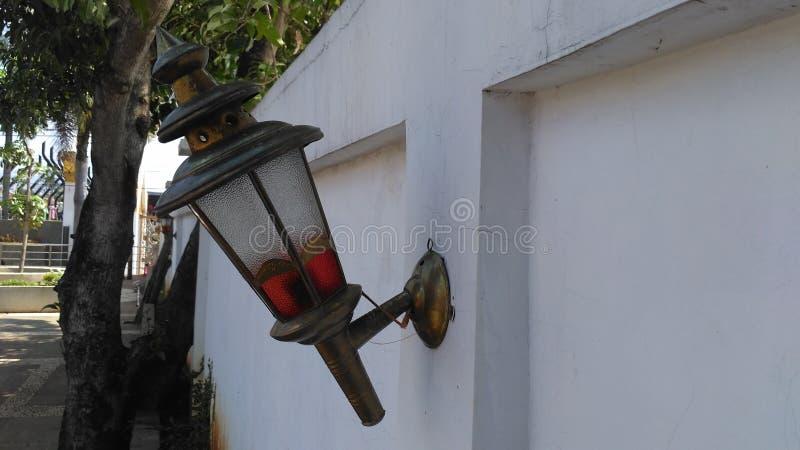 Lampa w ścianie zdjęcia stock