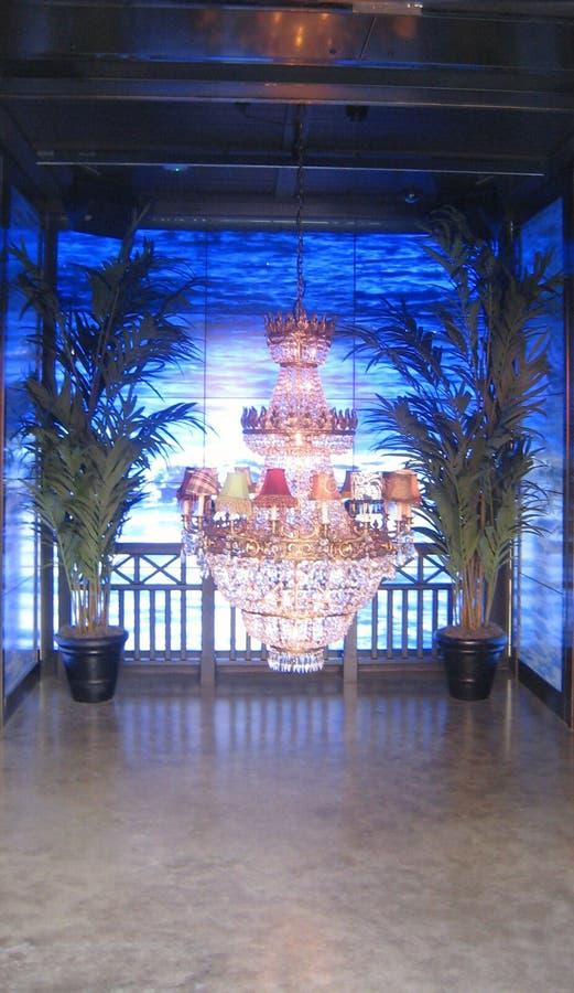 Lampa w morzu zdjęcie stock
