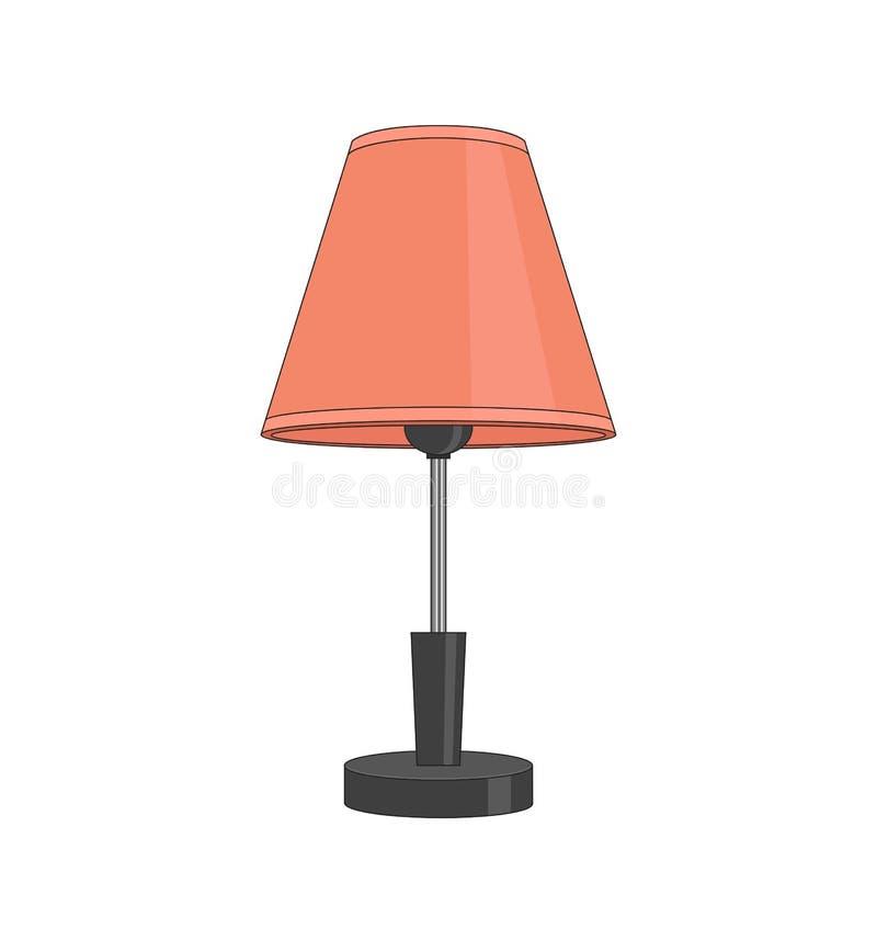 Lampada illustrazione vettoriale