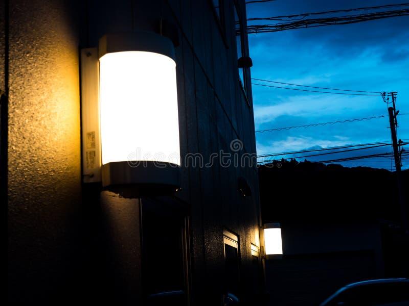 Lampada chiara fotografia stock libera da diritti