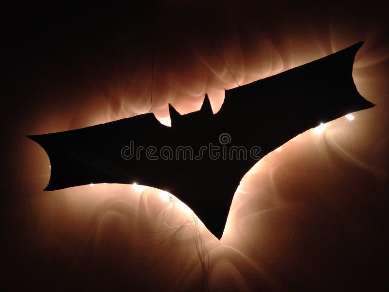 Lampada del pipistrello fotografia stock libera da diritti
