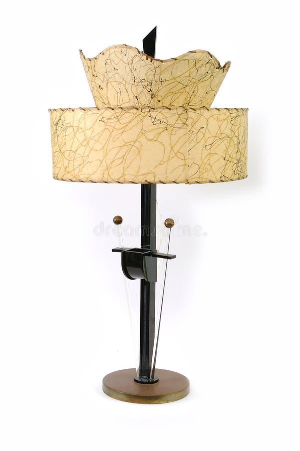 lampada dell'annata 50s fotografie stock