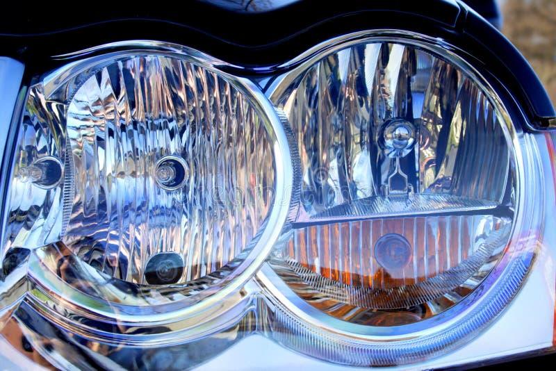 Lampada dell'automobile fotografia stock libera da diritti